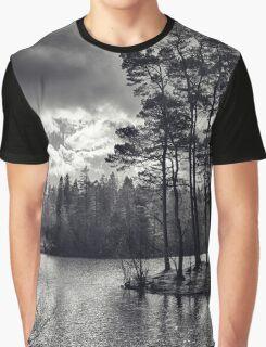 Daylight Dances on the Lake Graphic T-Shirt