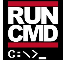 Run CMD Photographic Print