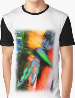 Psychedelic Dragonfly  Graphic T-Shirt