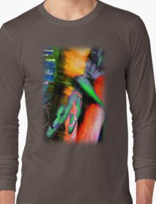 Psychedelic Dragonfly  Long Sleeve T-Shirt