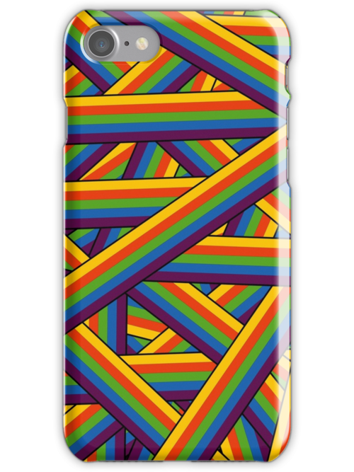 Weave the Colors - phone Case by Winterrr