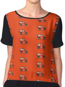 A Graphical Interpretation of the Defender 90 Station Wagon Adventure Edition Chiffon Top
