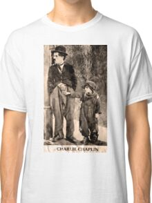Charlie Chaplin and The Kid Classic T-Shirt