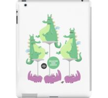 Dragons Ride Rhinos iPad Case/Skin