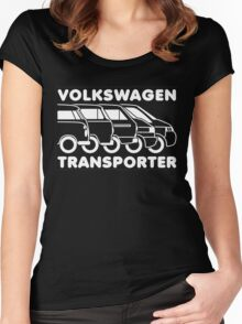 VW Transporter evolution Women's Fitted Scoop T-Shirt