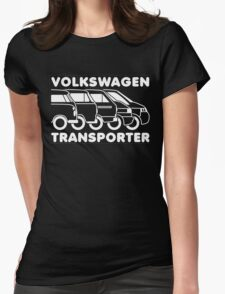 VW Transporter evolution Womens Fitted T-Shirt