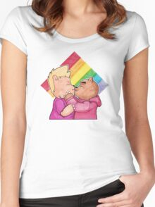 Bear Pride Women's Fitted Scoop T-Shirt
