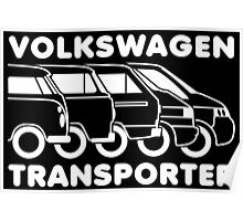 VW Transporter evolution Poster