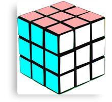 Transgender Rubik's Cube Canvas Print
