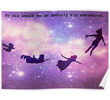 peter pan silhouettes Poster