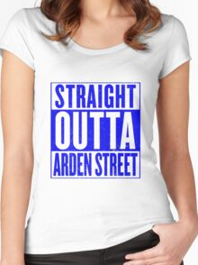 Straight Outta Arden Street Women's Fitted Scoop T-Shirt