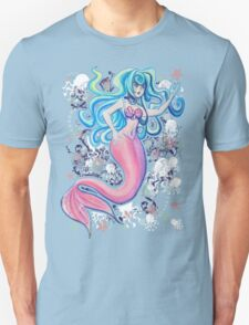 Pink Tailfin Mermaid T-Shirt
