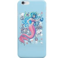 Pink Tailfin Mermaid iPhone Case/Skin