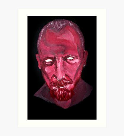 Captain James Flint- Anger. Art Print