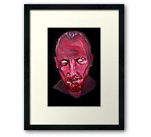 Captain James Flint- Anger. Framed Print