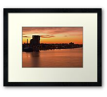 Welcome to Melbourne 3 Framed Print