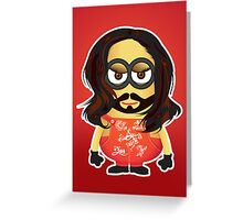 Conchita Minion Greeting Card