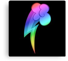 MLP - Cutie Mark Rainbow Special - Rainbow Dash Canvas Print
