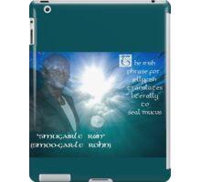 Seal's Mucus iPad Case/Skin