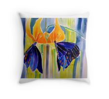 EXOTIC SWALLOWTAILS 11 Throw Pillow