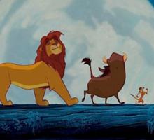 lion king Sticker