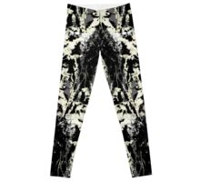 Floral Inkblot Leggings