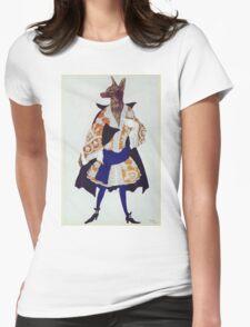 Leon Bakst - The  Wolf. Dancer painting: wolf, ballet, dance, designer, choreography, music, theatre, dancer,  music, dress, costume Womens Fitted T-Shirt