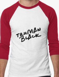 // TRUMAN BLACK // Men's Baseball ¾ T-Shirt