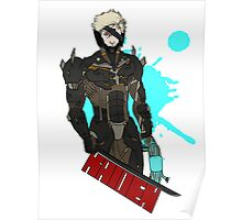 Metal Gear Rising Raiden Poster