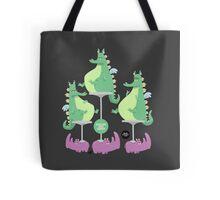 Dragons Ride Rhinos Tote Bag