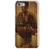 Compass of Uncharted Lands iPhone Case/Skin