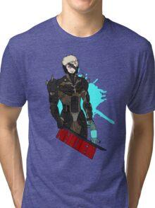 Metal Gear Rising Raiden Tri-blend T-Shirt