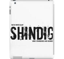 SHINDIG iPad Case/Skin
