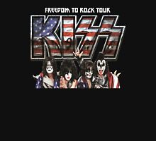 KISS band FREEDOM TO ROCK TOUR 2016 CONCERT Unisex T-Shirt
