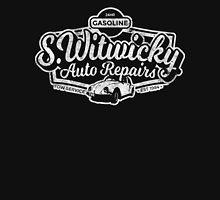 Witwicky's Auto Garage (white design) Unisex T-Shirt