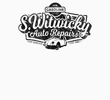 Witwicky's Auto Garage (black design) Unisex T-Shirt