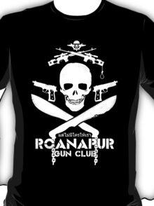 Black Lagoon ROANAPUR GUN CLUB T-Shirt