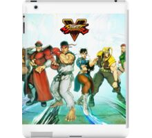 street fighter full v iPad Case/Skin