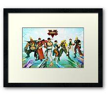 street fighter full v Framed Print