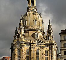 Our Lady's Church of Dresden by Christine Till  @    CT-Graphics