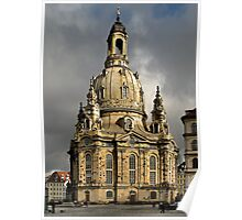 Our Lady's Church of Dresden Poster