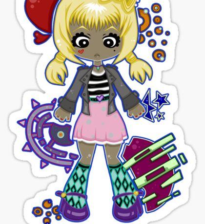 Cute Kawaii by Lolita Tequila Sticker