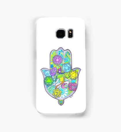 Chakras and the Hand of Fatima Samsung Galaxy Case/Skin