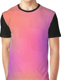 Colorful geometric blurred background Graphic T-Shirt