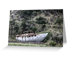 Big Boat For Sale Greeting Card