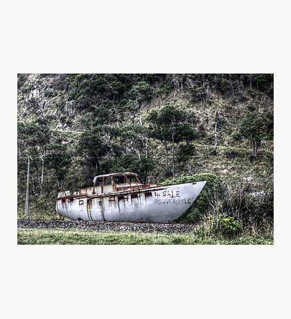 Big Boat For Sale Photographic Print