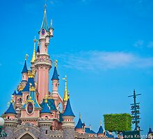 Sleeping Beauty Castle / Le Château de la Belle au Bois Dormant by ThatDisneyLover