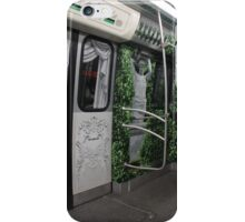 trip on the subway train in St. Petersburg iPhone Case/Skin
