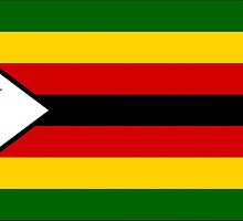 Zimbabwe Flag Products by Mark Podger