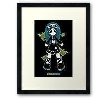 Gothic Lolita by Lolita Tequila Framed Print